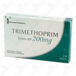 Trimethoprim 200mg x 14